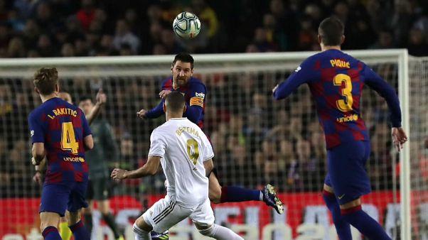 'Clásico' sin goles entre el Barcelona y el Real Madrid en el Camp Nou