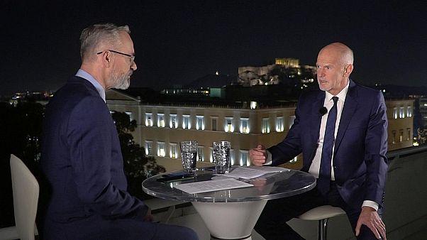 Eski Yunanistan Başbakanı Papandreu: Türkiye ile sorunlarımızı barışçıl bir ortamda çözmek istiyoruz