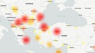 Türkiye ve komşularında Google'a erişim sorunu yaşanıyor
