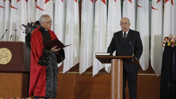 عبد المجيد تبون يؤدي اليمين الدستورية رئيساً للجزائر الخميس 19 ديسمبر 2019