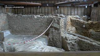 Las ruinas del metro de Salónica serán trasladadas