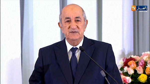 Le nouveau président algérien, Abdelmadjid Tebboune