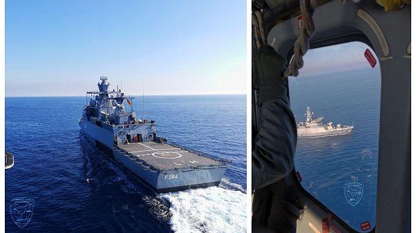 Κοινή άσκηση έρευνας και διάσωσης Κύπρου-Γερμανίας στην κυπριακή ΑΟΖ - ΦΩΤΟ και ΒΙΝΤΕΟ