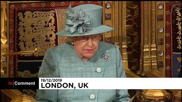 A királynő megnyitja a brit parlament új ülésszakát
