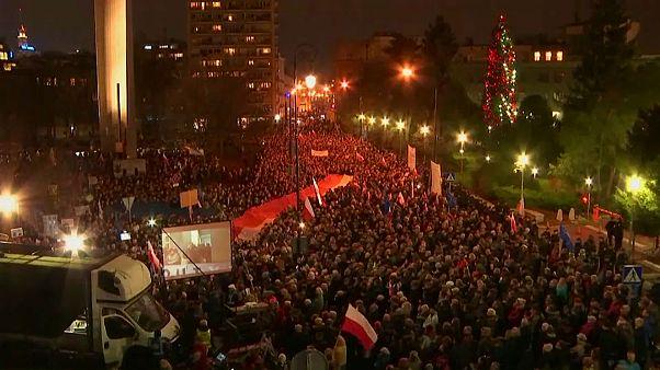 """Proteste in Polen gegen """"Maulkorb-Erlass"""" der Regierung"""