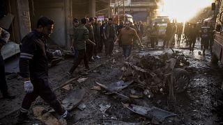 صورة ارشيفية لتفجير سابق في شمال سوريا
