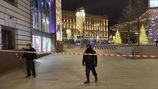 Стрельба у здания ФСБ в центре Москвы