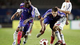 داميان لو تاليك (وسط) بقميص منتخب فرنسا تحت 20 عاماً