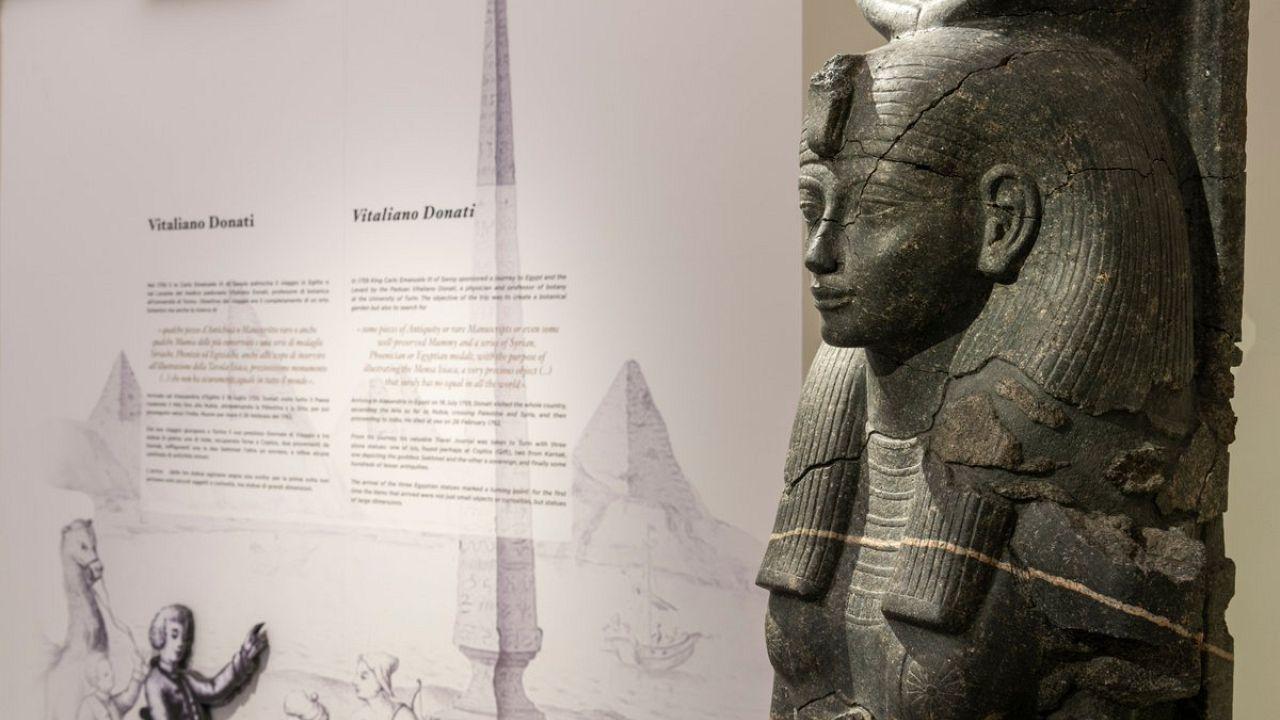 Il Museo Egizio di Torino apre cinque nuove sale, per raccontare la propria storia