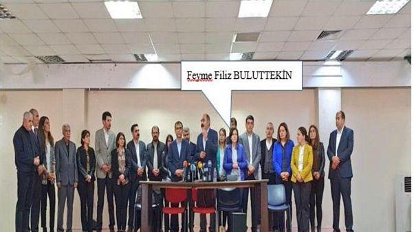 Diyarbakır'da terör soruşturması kapsamında gözaltına alınan Sur Belediye Başkanı Filiz Buluttekin