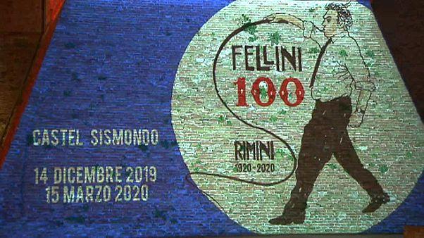 Необычная выставка Феллини