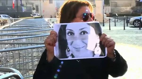 Photo de la journaliste maltaise, Daphne Caruana Galizia