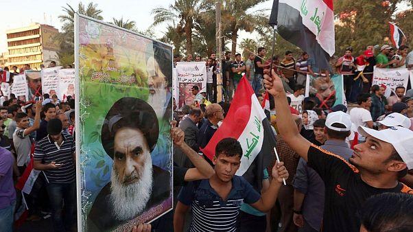 آیت الله سیستانی خواستار برگزاری انتخابات زود هنگام در عراق شد