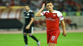 Türk asıllı Alman futbolcu Mesut Özil