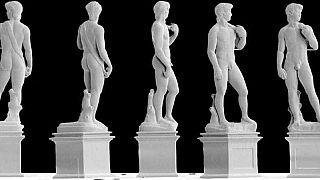 Egy milliméteres Dávid-szobrot nyomtattak Zürichben