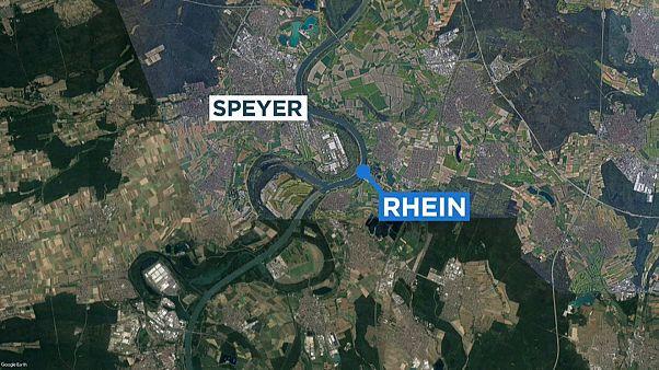 Schiffskollision bei Speyer: 20 Verletzte
