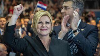 Hırvatistan Cumhurbaşkanı Grabar-Kitarovic koltuğunu korumayı amaçlıyor