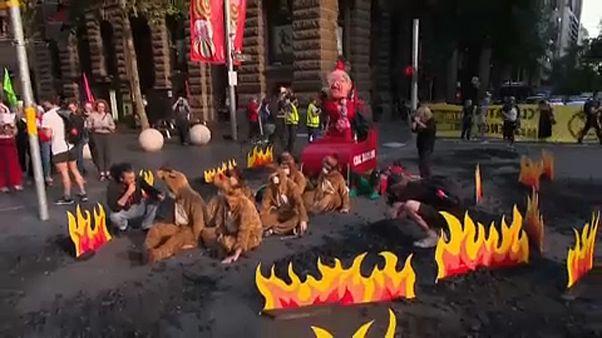 Bozóttüzek: Két tűzoltó meghalt Ausztráliában