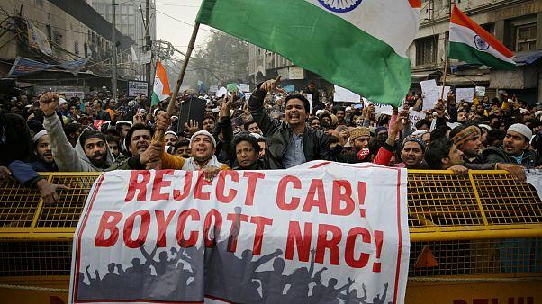 اعتراض به قانون اعطای شهروندی در دهلی نو
