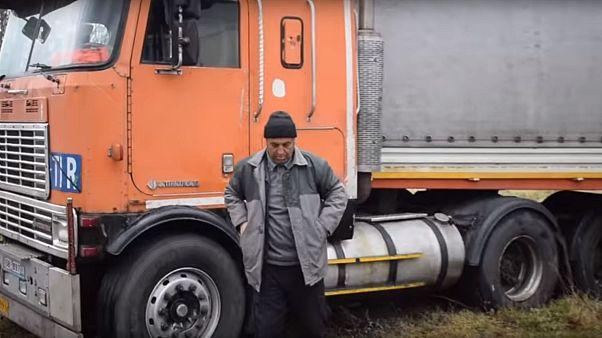 کامیون اهدایی لهستانیها به راننده ایرانی به دلیل تحریم تحویل داده نشد