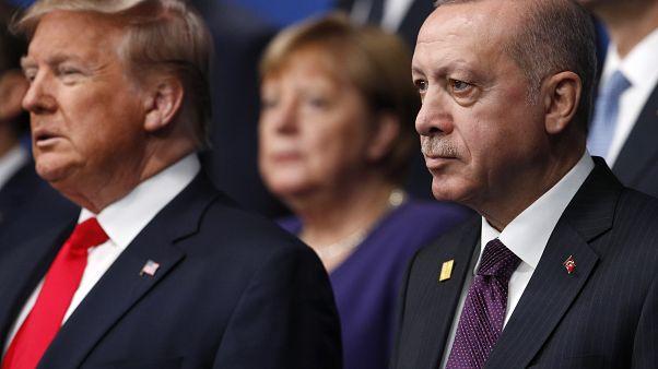 ABD Başkanı Trump ile Cumhurbaşkanı Erdoğan telefonda görüştü