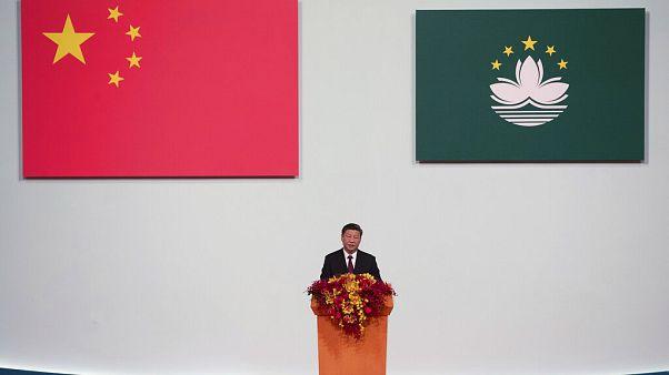 """Presidente chinês envia recado às """"forças externas"""""""