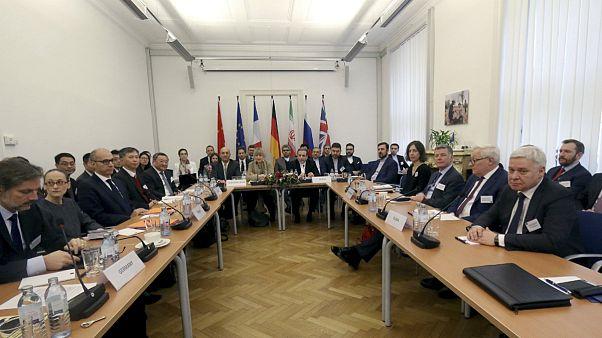 نشست هیئت ایرانی با طرفهای اروپایی برجام در وین