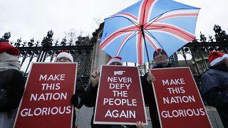 Freude über Brexit, Skepsis über zukünftiges Handelsabkommen