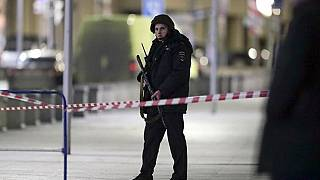 The gunman opened fire outside the FSB headquarters in Moscow on Thursday