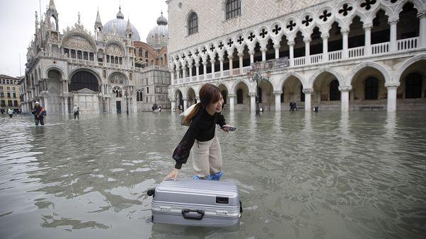 Bajón del turismo en Venecia