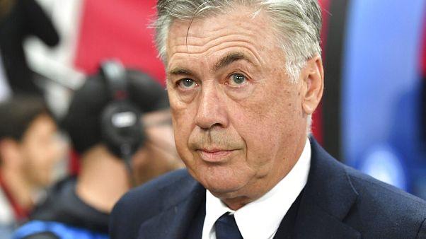 Everton's new coach, Carlo Ancelotti