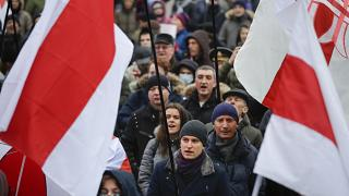 Protests as Belarus-Russia integration talks deepen