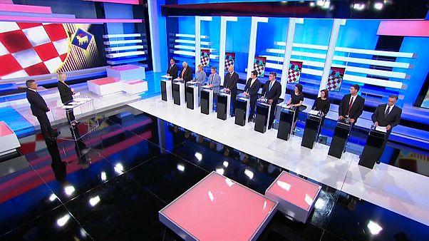 Kroatien vor der Wahl: Konkurrenten liegen gleichauf