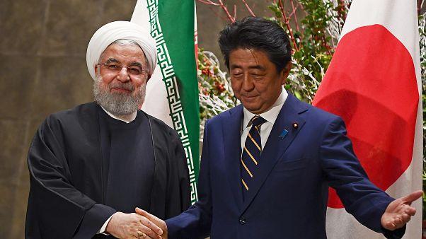 گفتگوی تلفنی شینزو آبه با دونالد ترامپ پس از دیدار با روحانی