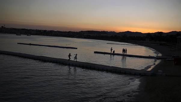 صورة لأحد شواطئ البحر الأحمر في مصر