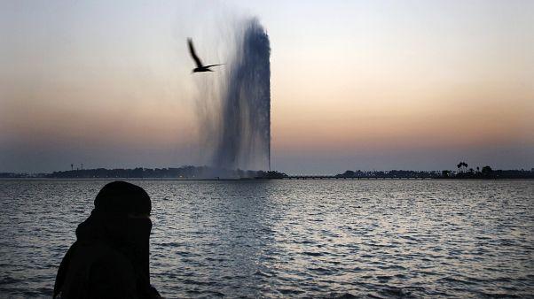 امرأة سعودية في مدينة جدة