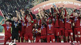 فريق ليفربول بعد التتويج