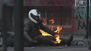 اعتراضات شیلی؛ درگیریهای شدید میان پلیس و معترضان