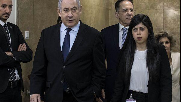 """""""Rocket"""" obriga Netanyahu a abandonar comício"""