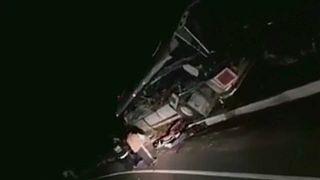 Legkevesebb húszan meghaltak egy buszbalesetben Guatemalában