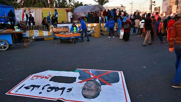 تظاهرات معترضان در عراق همزمان با احتمال معرفی نامزد نخست وزیری