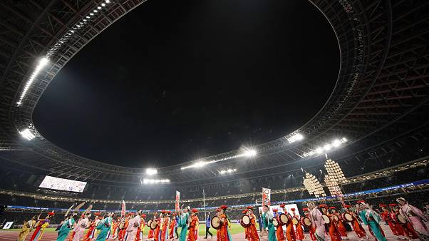 Tokyo Olympic Stadium inaugurated by Usain Bolt