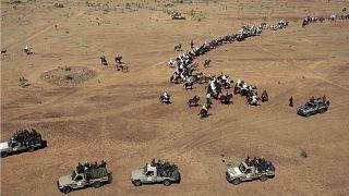 صورة لقوات الجنجويد في دارفور