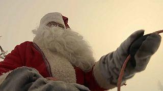Ξεκίνησε το ταξίδι του ο Άγιος Βασίλης...