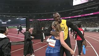 """Lo stadio per le Olimpiadi di Tokyo: Bolt inaugura il """"National Stadium"""""""