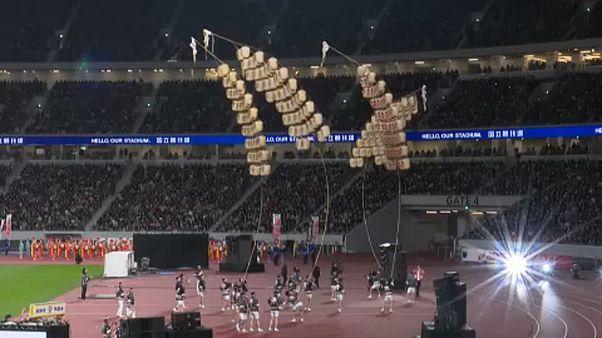 Felavatták a tokiói olimpiai stadiont