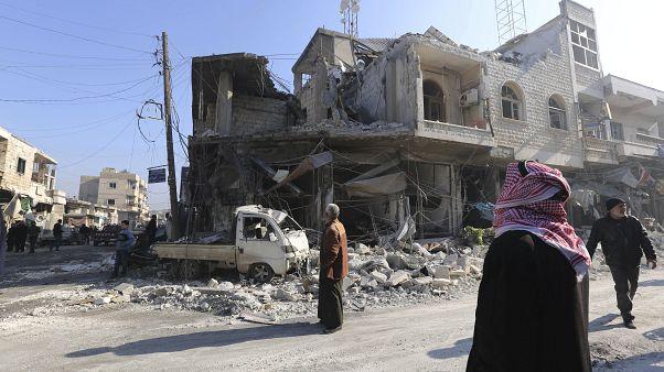 النظام السوري يسيطر على 25 مدينة وقرية في إدلب