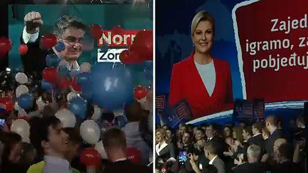 Horvát elnökválasztás: ellenzéki jelölt nyerte az első fordulót