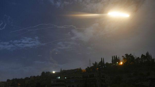 سوریه: موشکهای اسرائیل را رهگیری کردیم
