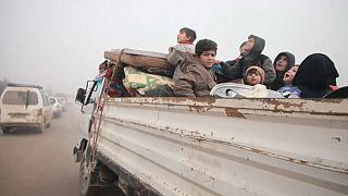 Újabb menekülthullám indult a harcok miatt Szíriából